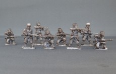 French infantry firing line