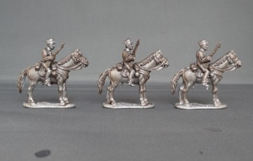 Belgian Lancers with Carbines Horses stood