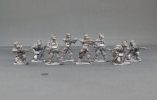 Belgian line infantry/chasseurs a pied firing line