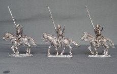 Belgian Lancers lance upright trotting
