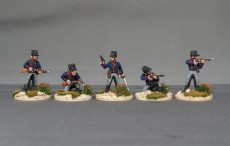 Belgian Chasseurs a Cheval Dismounted