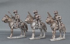 Belgian Guides with Carbines horses stood