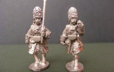 Grenadiers in fur caps