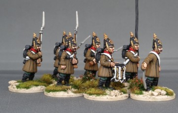 32 Figure Crimean Russian Infantry Regiment
