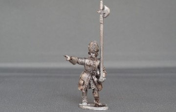 Dutch Grenadier sergeant marching wssdgs02