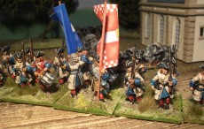 18 man ebor Regiment