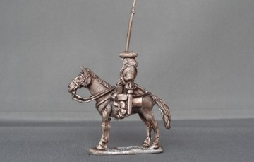 Mounted Standard Bearer Horse stood
