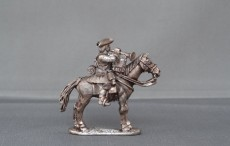 Mounted Trumpeter Horse stood
