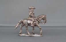 Mounted Officer Horse trotting
