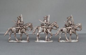 WSS Horse swords drawn horses trotting