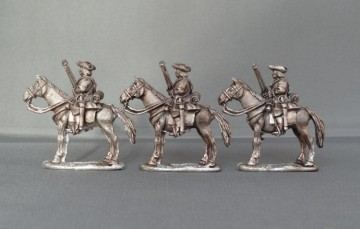 WSS Horse with musket horses stood WSSHB03