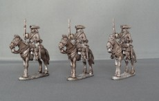 WSS Dragoons horses stood