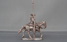 Mounted standard bearer Horse trotting