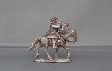 Mounted Musician Horse trotting