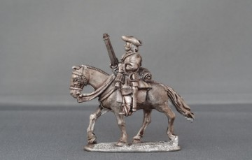 WSS Horse with carbine horse trotting