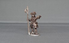 Musketeer sergeant with cockade