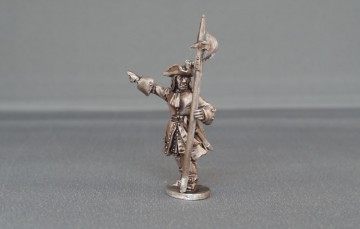 Musketeer sergeant with cockade WSSMSC02