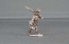 Musketeer marching sloped arms with cockade WSSMC05