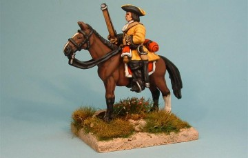 WSS Horse with musket horse stood