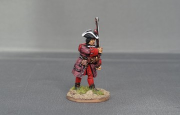 Spanish fusilier marching WSSSF04