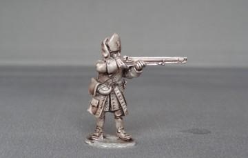 Grenadier of Austrian Brandenburg Bayreuth stood firing WSSABBG01