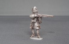 Grenadier of Spanish Tercio stood firing WSSSG01