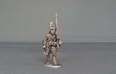 Grenadier of Spanish Guards marching WSSGSG04