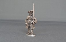 Musketeer of Spanish and Walloon Guards marching WSSMSWG02