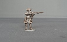 Musketeer of Gardes Francaises and Suisses stood firing WSSMGF01