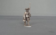 Musketeer of Gardes Francaises and Suisses marching WSSMGF03