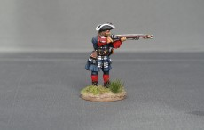 Musketeer of Spanish and Walloon Guards stood firing WSSMSWG03
