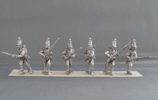 Crimean War British line infantry Regiment advancing CBR01
