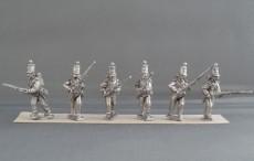 Crimean War British line infantry Regiment advancing CBR01