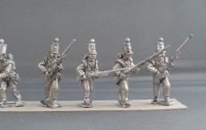 Crimean War British line Infantry flank company advancing CBFC01