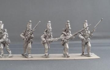 Crimean War British line Infantry flank company advancing CBFC01