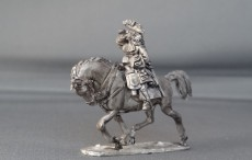 General Officer on trotting horse shouting WSSGOF03