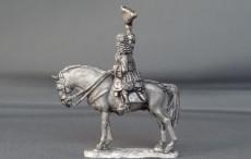General officer waving hat on standing horse WSSGOF07
