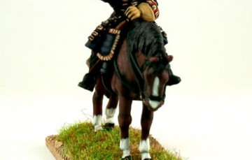 General Officer shouting on standing horse WSSGOF01