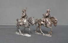 French/Spanish horse regiment advancing with pistols WSSFSHR02