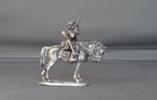 French/Spanish horse troopers with pistols standing horse WSSFST01