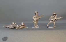 28mm WW2 Japanese infantry with medium machine gun. KMWW2JMMGC01 (8 figures)