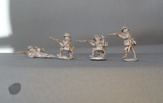 28mm WW2 Japanese infantry firing KMWW2JIF02 (8 figures)
