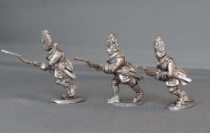 GNW Swedish grenadiers in Brass plated mitres charging SGNWGC01
