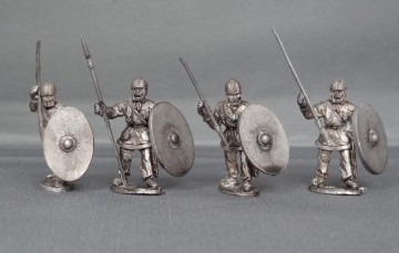 28mm Late Roman unarmoured Unit  LRUNIT01