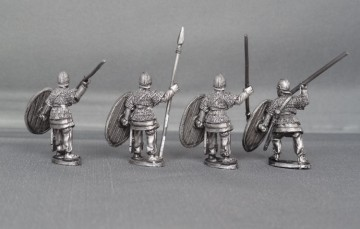 28mm Late Roman Armoured Legionnaires LRARL01