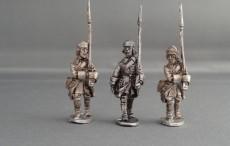 GNW Swedish musketeers marching in Karpus GNWSMMK01