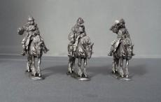 WSS Cuirassier Command in German Helmets horses stood WSSCC01