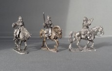 WSS Cuirassier Command in German Helmets charging WSSCCH01