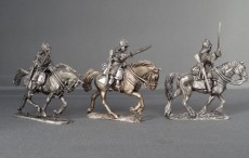 WSS Cuirassier troopers in German Helmets Charging WSSCT01