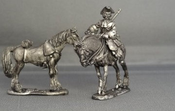 GNW Dismounted Russian Dragoons GNWRDD01